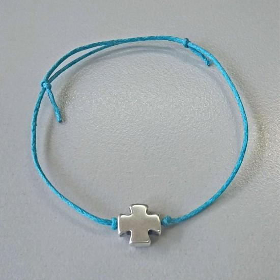Μαρτυρικό βραχιόλι με σταυρό ΜΒ18103