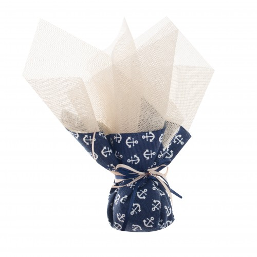 Μπομπονιέρα μπλε άγκυρες B02502