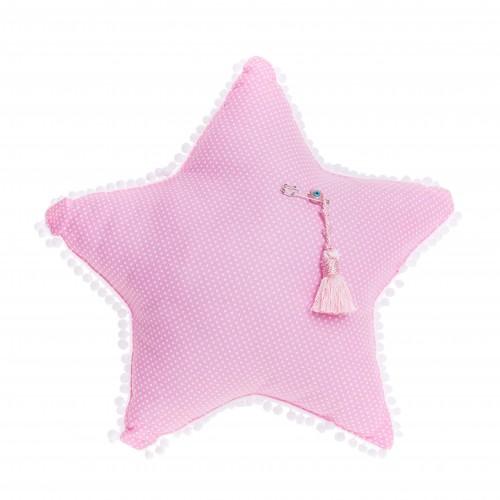 Μαξιλάρι ροζ «Αστεράκι»