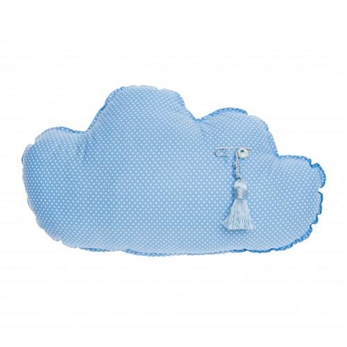 Μαξιλάρι γαλάζιο «Συννεφάκι»