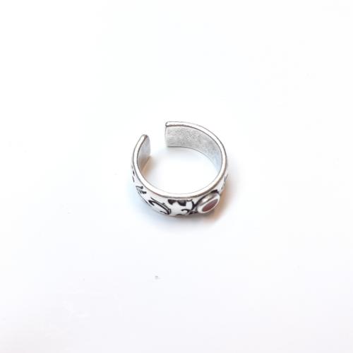 Δαχτυλίδι φλοράλ σμάλτο