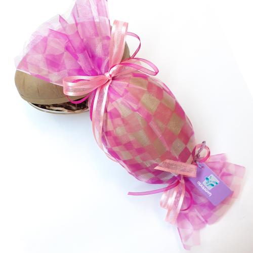Αυγουλάκι καραμέλα ροζ