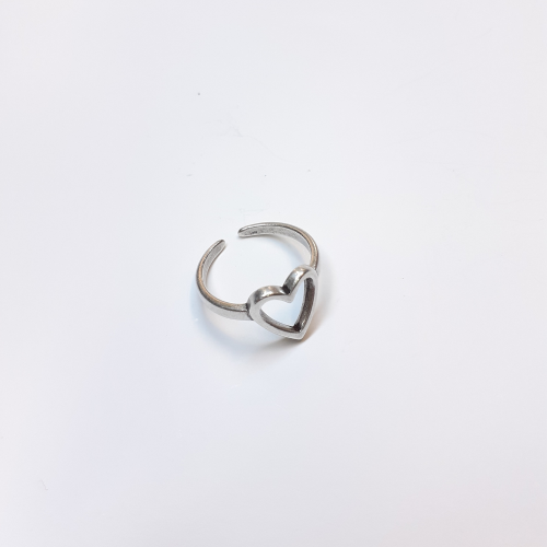 Δαχτυλίδι καρδιά περίγραμμα